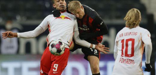 Fußball-Bundesliga: Eintracht Frankfurt mit Remis gegen RB Leipzig