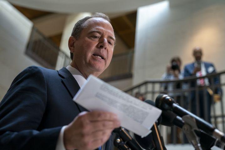 Demokrat Adam Schiff: Notfalls auf dem Klageweg an Details kommen