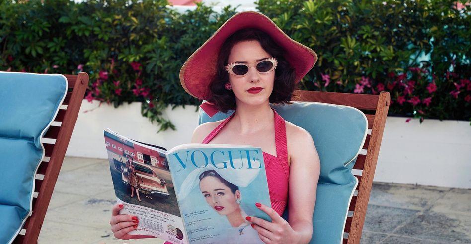 Hauptdarstellerin Rachel Brosnahan in »The Marvelous Mrs. Maisel«: Wahrheit wird der Wohlgefälligkeit geopfert