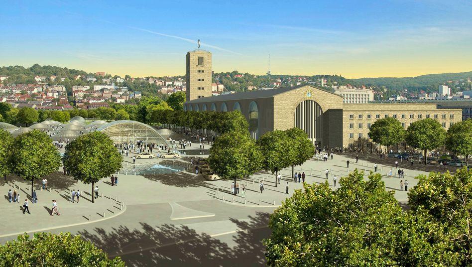 Entwurf von Stuttgart 21