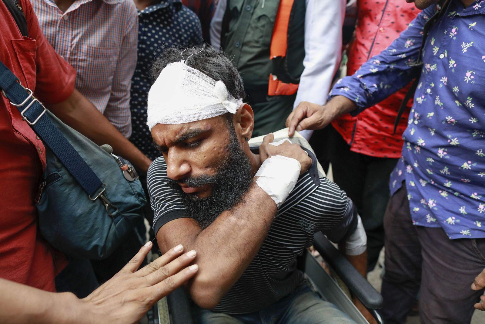 Bangladesch/ Proteste/ Verkehrssicherheit