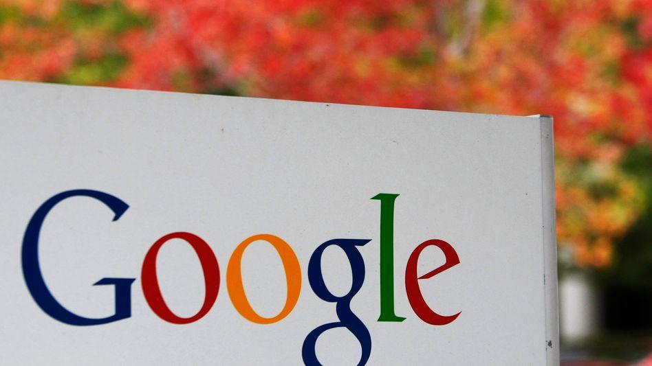 Google-Logo vor Zentrale in Kalifornien: Gespräche mit Regierungen