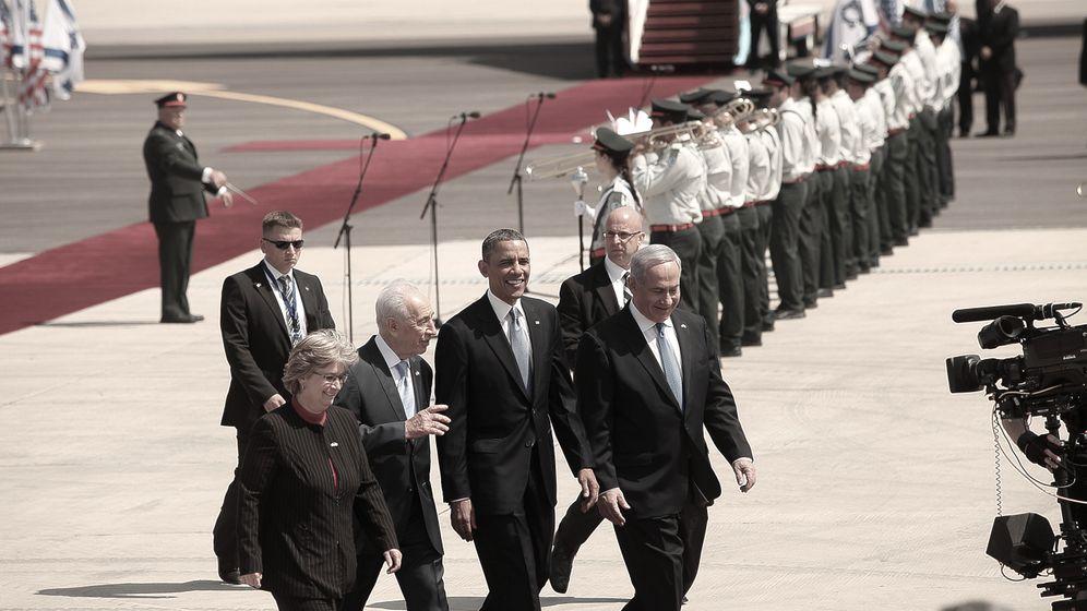 Obama vor Studenten: Präsidenten-Fans im Heiligen Land