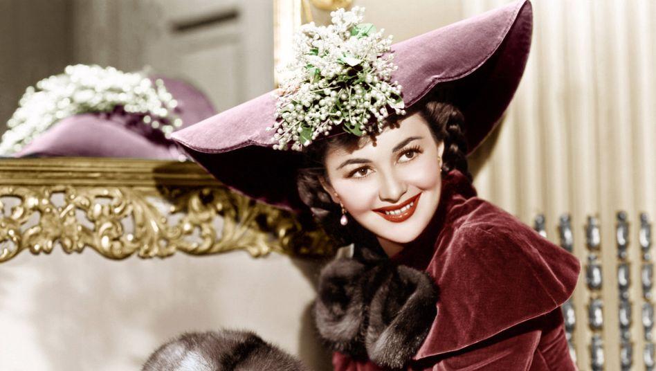 "Olivia de Havilland in ""Sein letztes Kommando"", 1941"