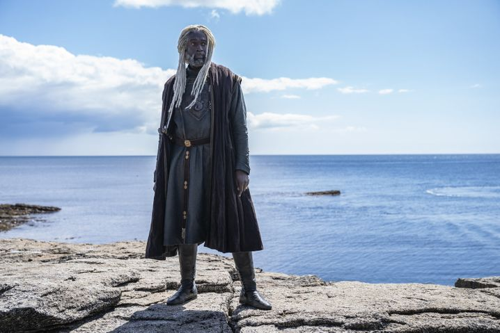 Steve Toussaint als Lord Corlys Velaryon
