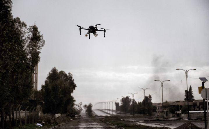 Eine Drohne im Nordirak (2017)