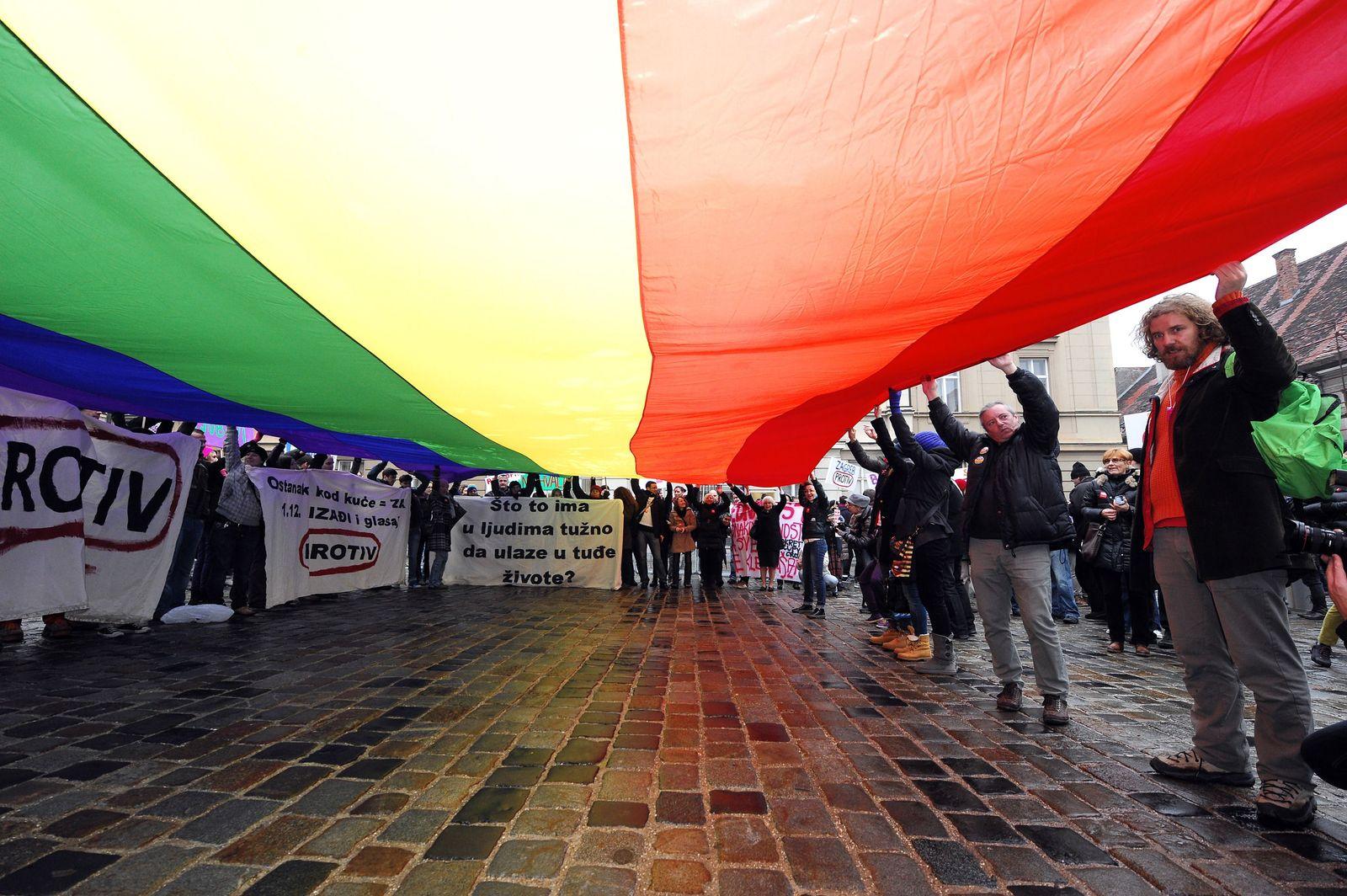 CROATIA-GAY-RIGHTS-RELIGION-REFERENDUM