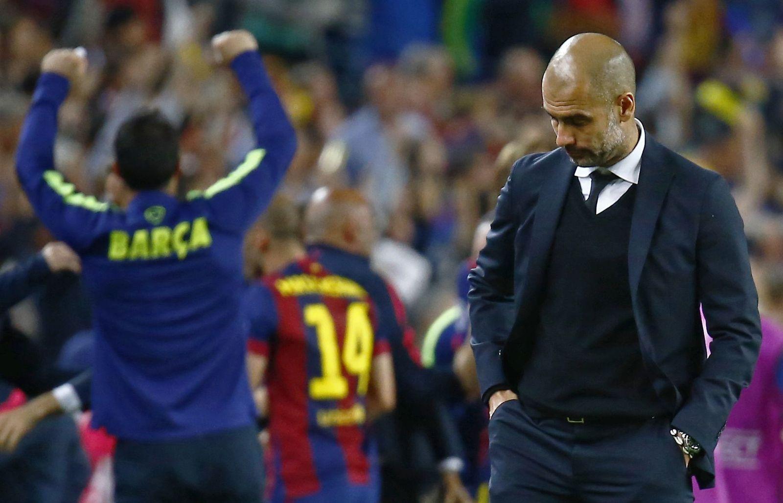 Guardiola enttäuscht gegen Barca