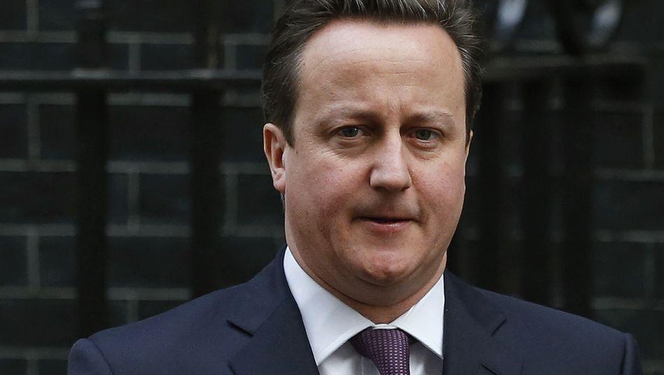 """Cameron: """"Schlechte Nachrichten"""" für die Briten"""