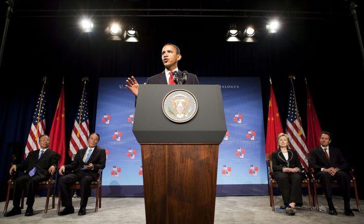 """Obama beim chinesisch-amerikanischen Dialog: """"Kooperation, nicht Konfrontation"""""""