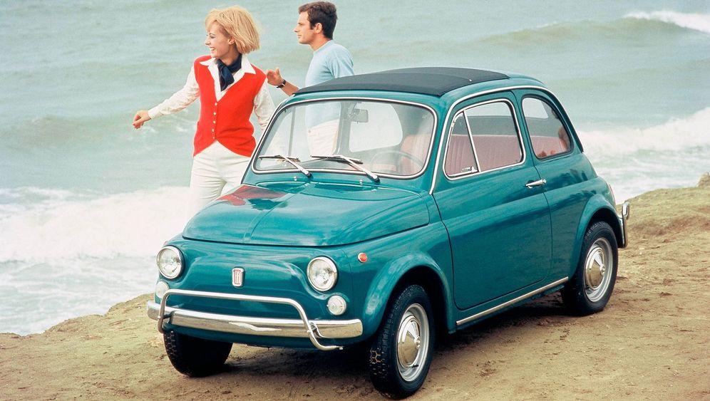 Günstige Oldtimer - Fiat 500: Klein bisschen Spaß muss sein
