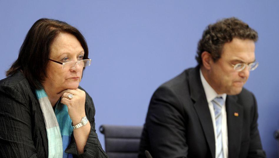 "Minister Leutheusser-Schnarrenberger, Friedrich: ""Kriegserklärung"" des Kabinettskollegen"