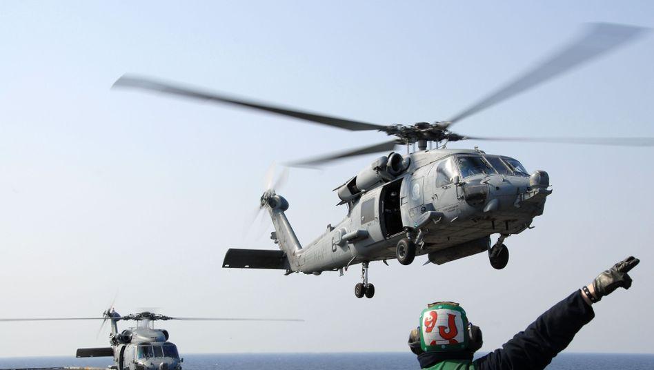 Sea Hawk Helikopter: United Technologies stellt neben Aufzügen und Klimaanlagen auch Motoren und Helikopter her