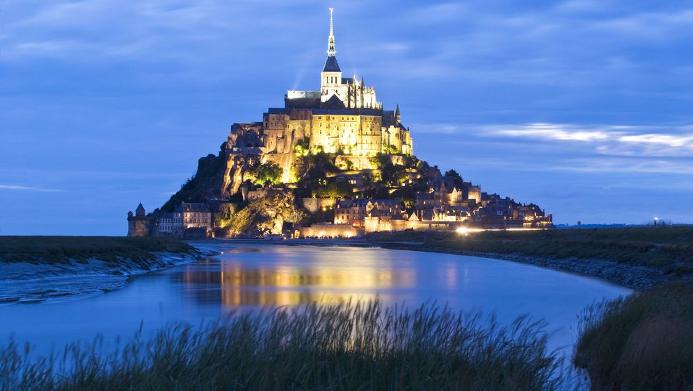 Photo Gallery: Wind Turbines Threaten Mont-Saint-Michel