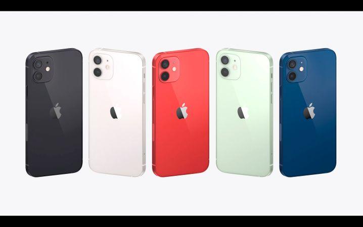 Das iPhone 12 wird es in fünf Farben geben