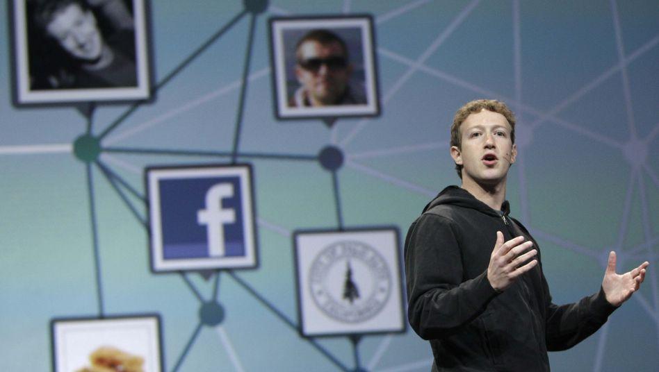 Facebook-Chef Mark Zuckerberg: Immer Ärger mit der Privatsphäre