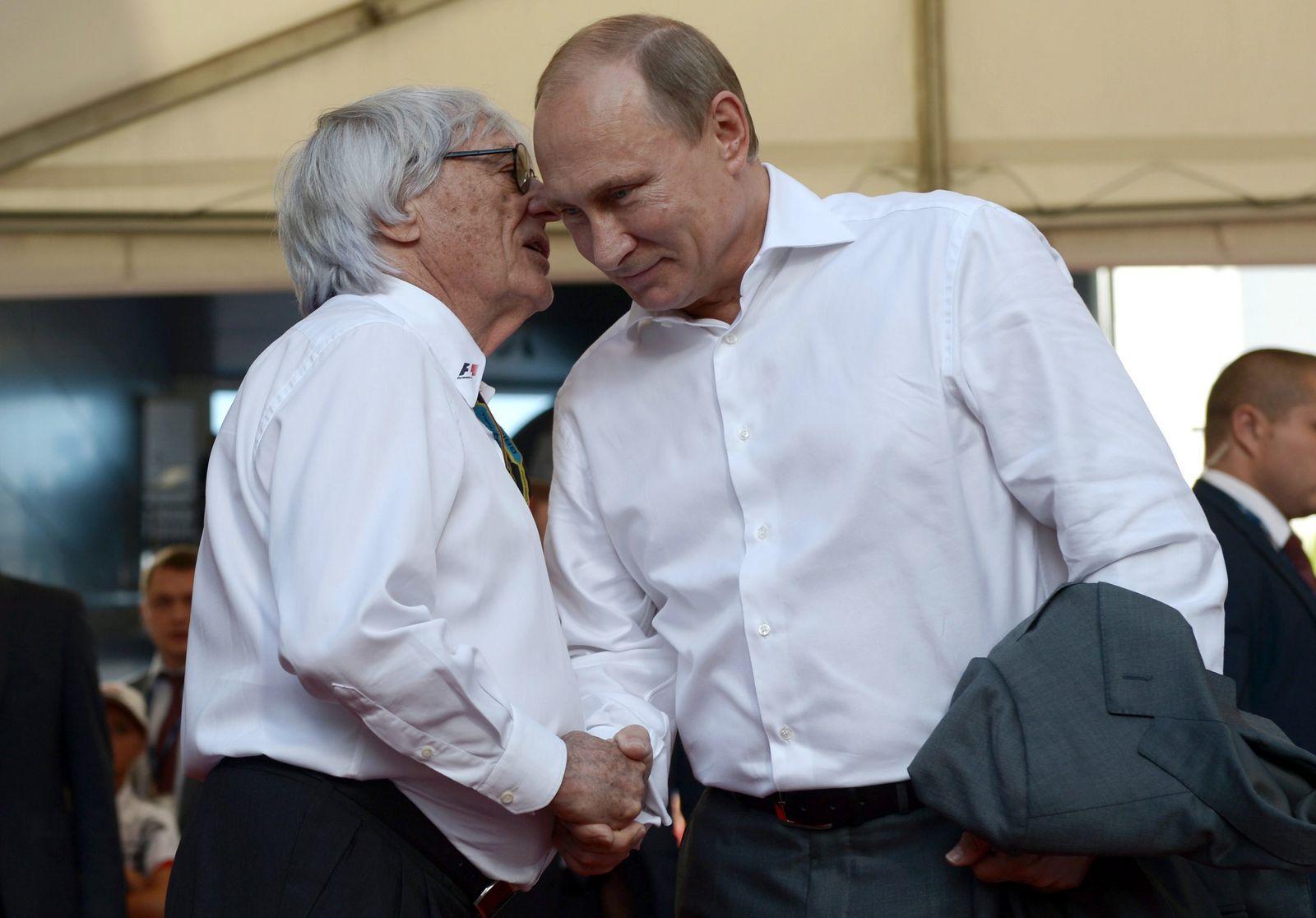 Bernie Ecclestone Putin
