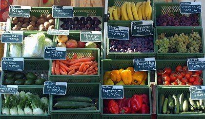 Obst und Gemüse: Illegale Pestizide gefunden