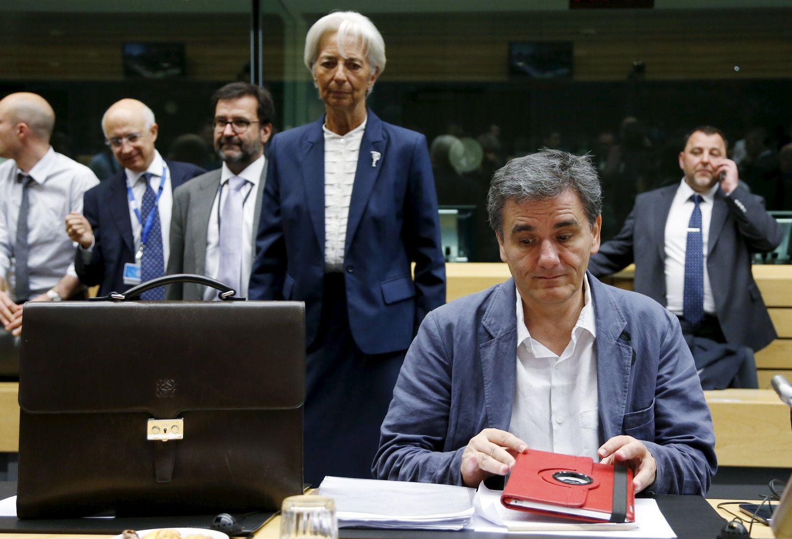 Griechenland/ Finanzkrise/ Lagarde/ Tsakalotos