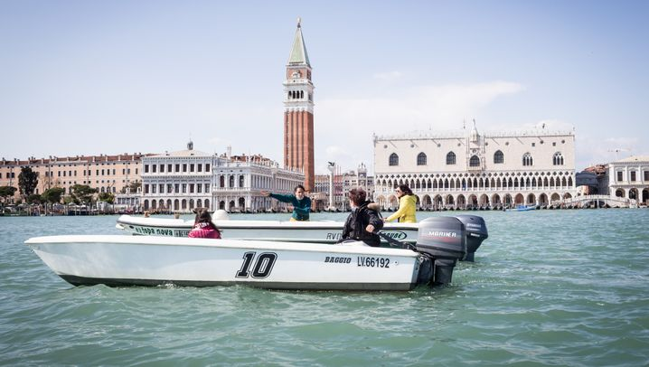 The Women of Venice Discover Boating
