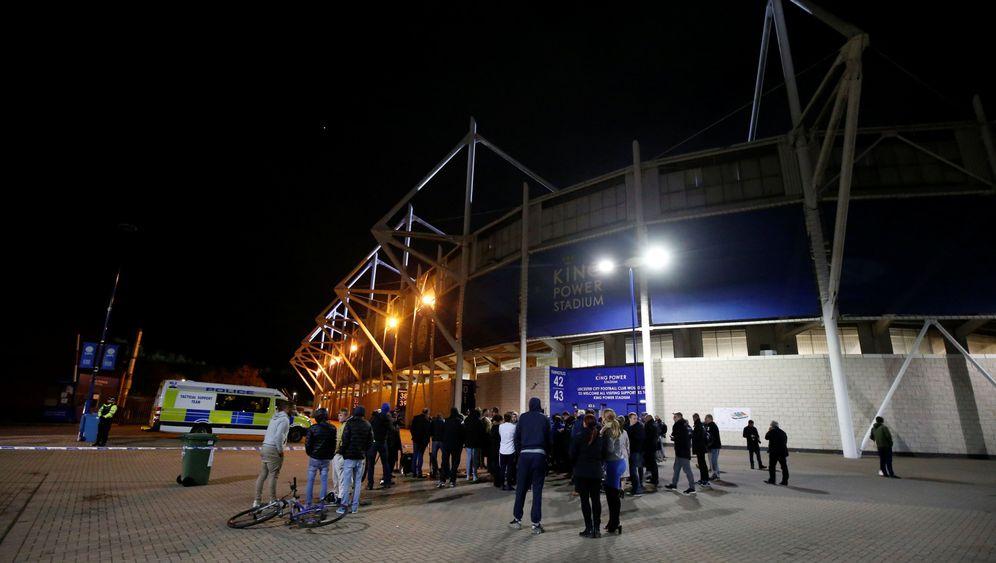 Leicester City: Absturz auf dem Parkplatz des Stadions