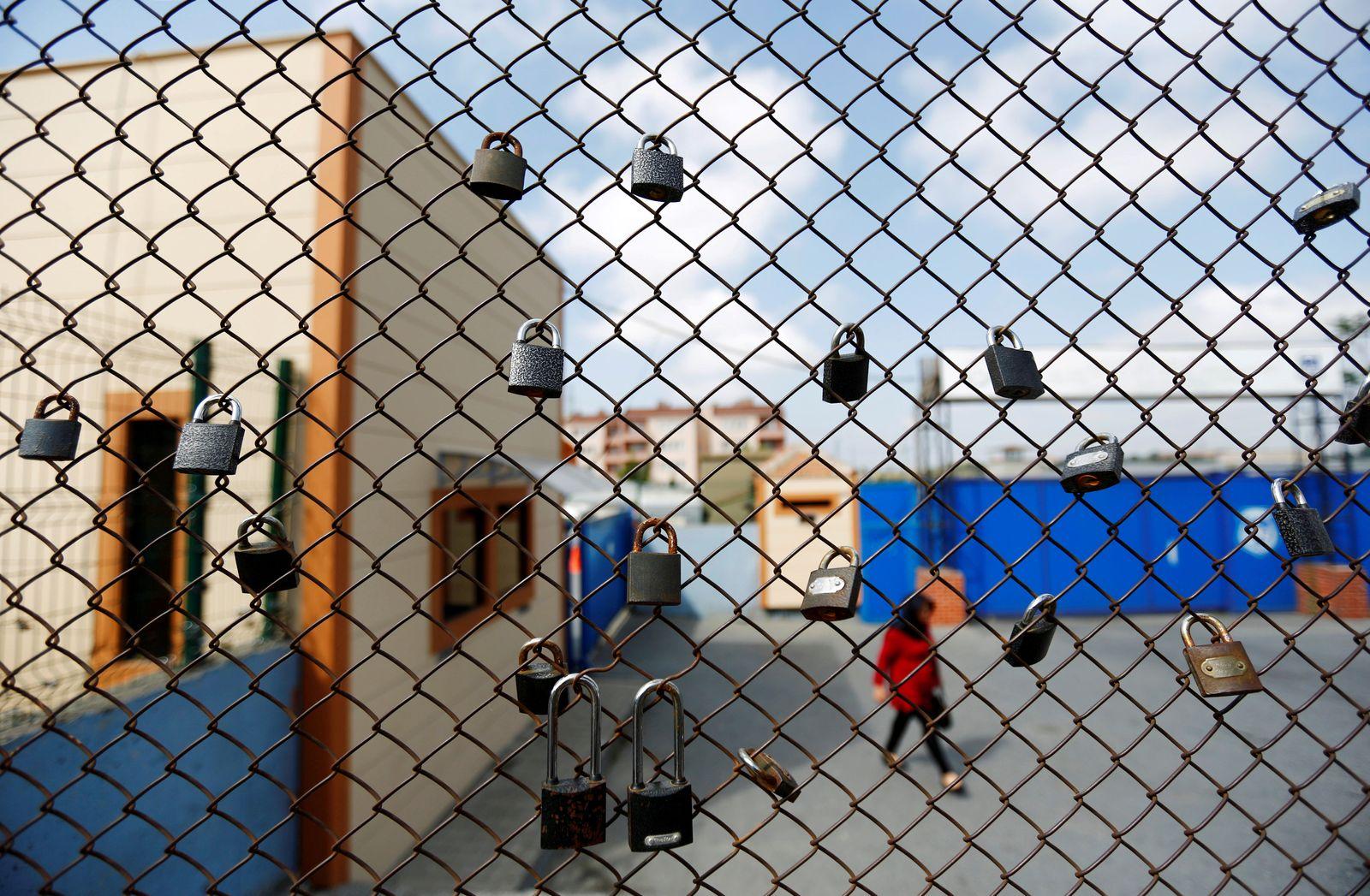 Türkei Gefängnis/ Türkei / Demonstration / Metris Gefängnis