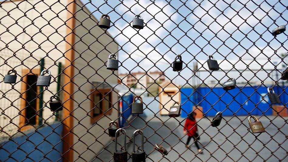 Insassin im Metris-Gefängnis in Istanbul