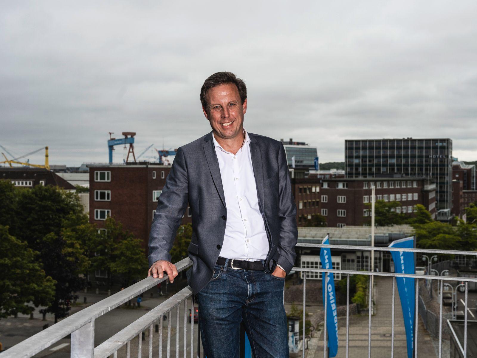 Interview & Portraits mit dem Spitzenkandidaten der SPD Schleswig-Holstein Thomas Losse-Müller;
