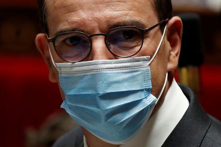 """Der französische Regierungschef Jean Castex: """"Das Virus breitet sich im ganzen Land aus"""""""