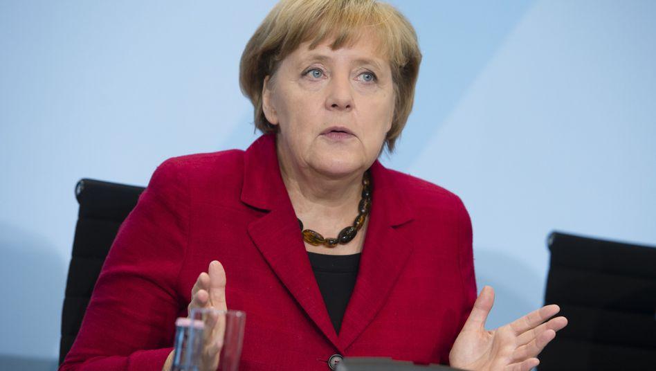 """Bundeskanzlerin Merkel: """"Besonnenheit ist das Gebot der Stunde"""""""