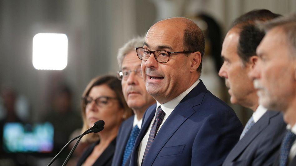 """PD-Chef Nicola Zingaretti: Koalition mit dem """"Schakal, der immer nur Stimmen sucht"""""""
