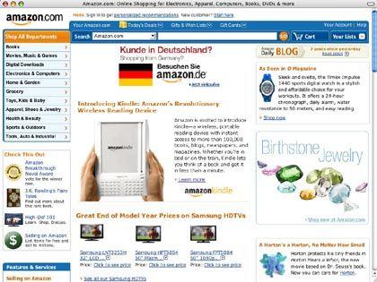 Amazon USA: Geschenkkörbe mit Lebensmitteln zu bestellen
