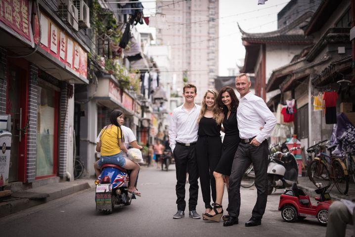 Familie Hartmann in Shanghai