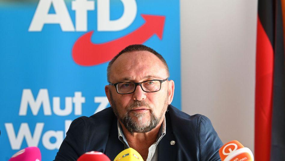 Frank Magnitz legt sein Amt als Vorsitzender der AfD in Bremen nieder