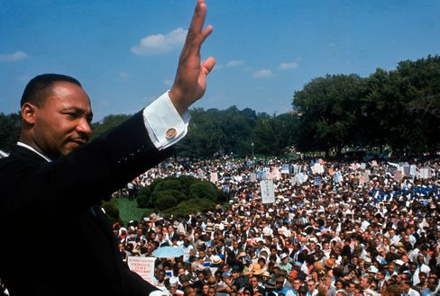 """""""I have a dream"""": Martin Luther King 1963 beim """"March on Washington"""""""