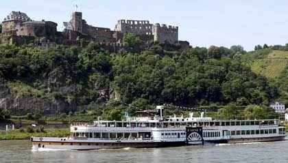 Kann nur männlich sein: Der gute alte Vater Rhein