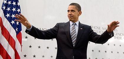 """Obama in der CIA-Zentrale: """"Meine Entscheidung macht die USA sicherer"""""""