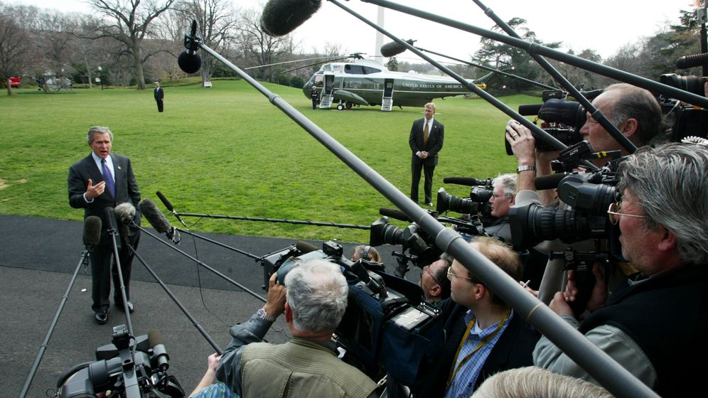 US-Medien und der Irak-Krieg: Die Kriegstrommler