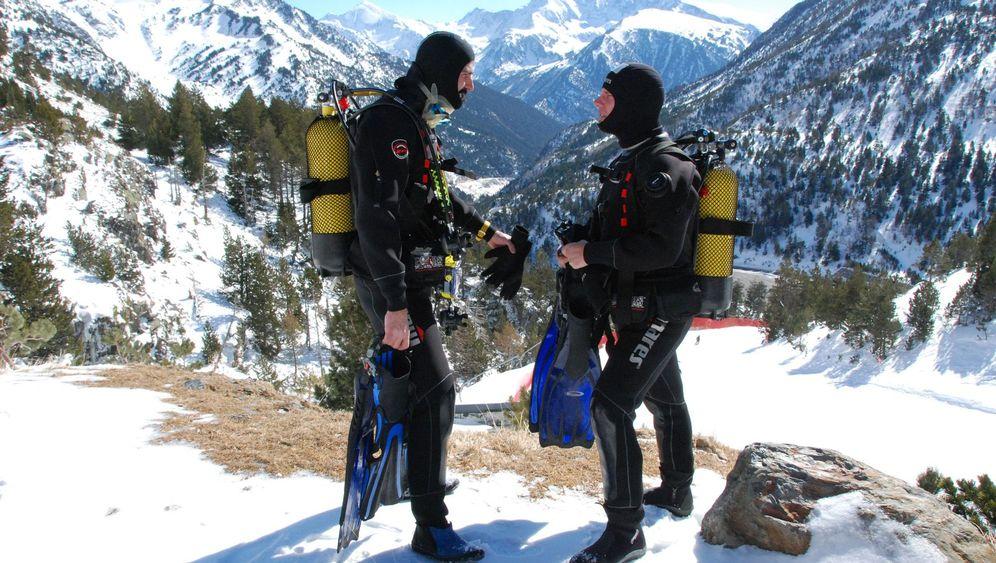 Speedriding und Eistauchen: Abenteuerspielplatz Andorra