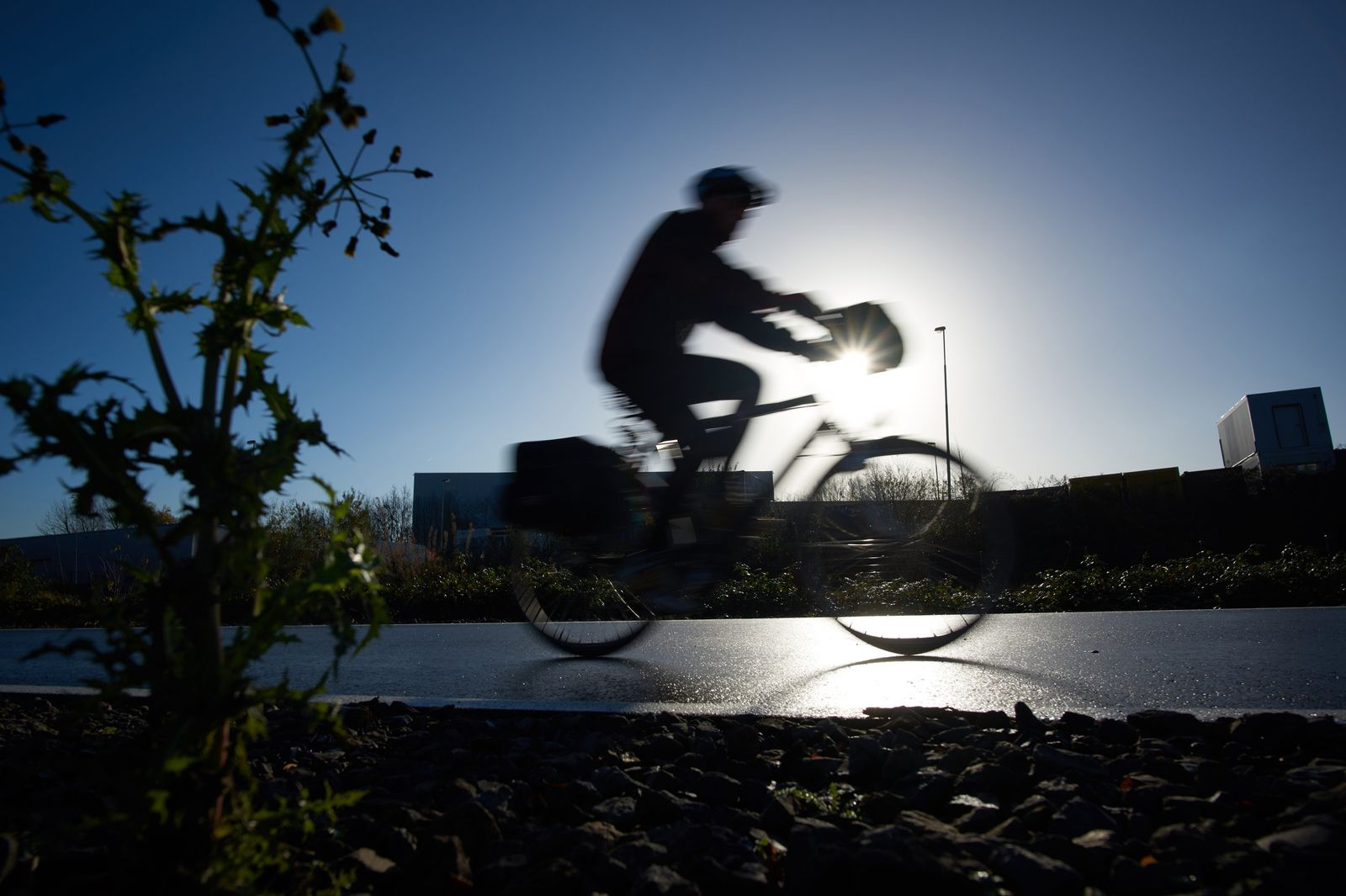 Fahrradschnellweg / Ruhrgebiet