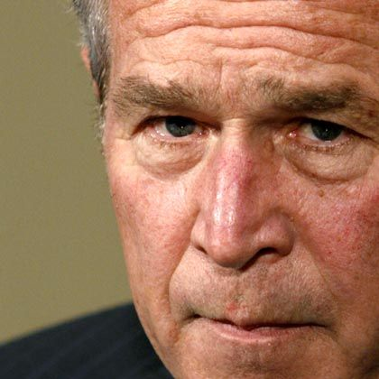 """US-Präsident Bush: """"Bedrohung nicht hochgespielt"""""""