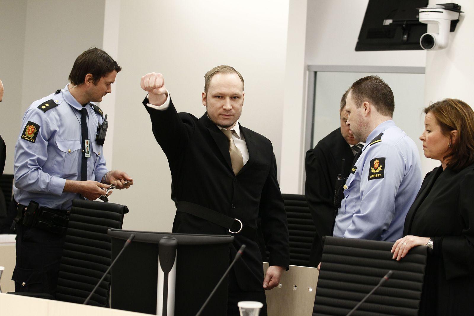 Breivik/ Prozess-Auftakt