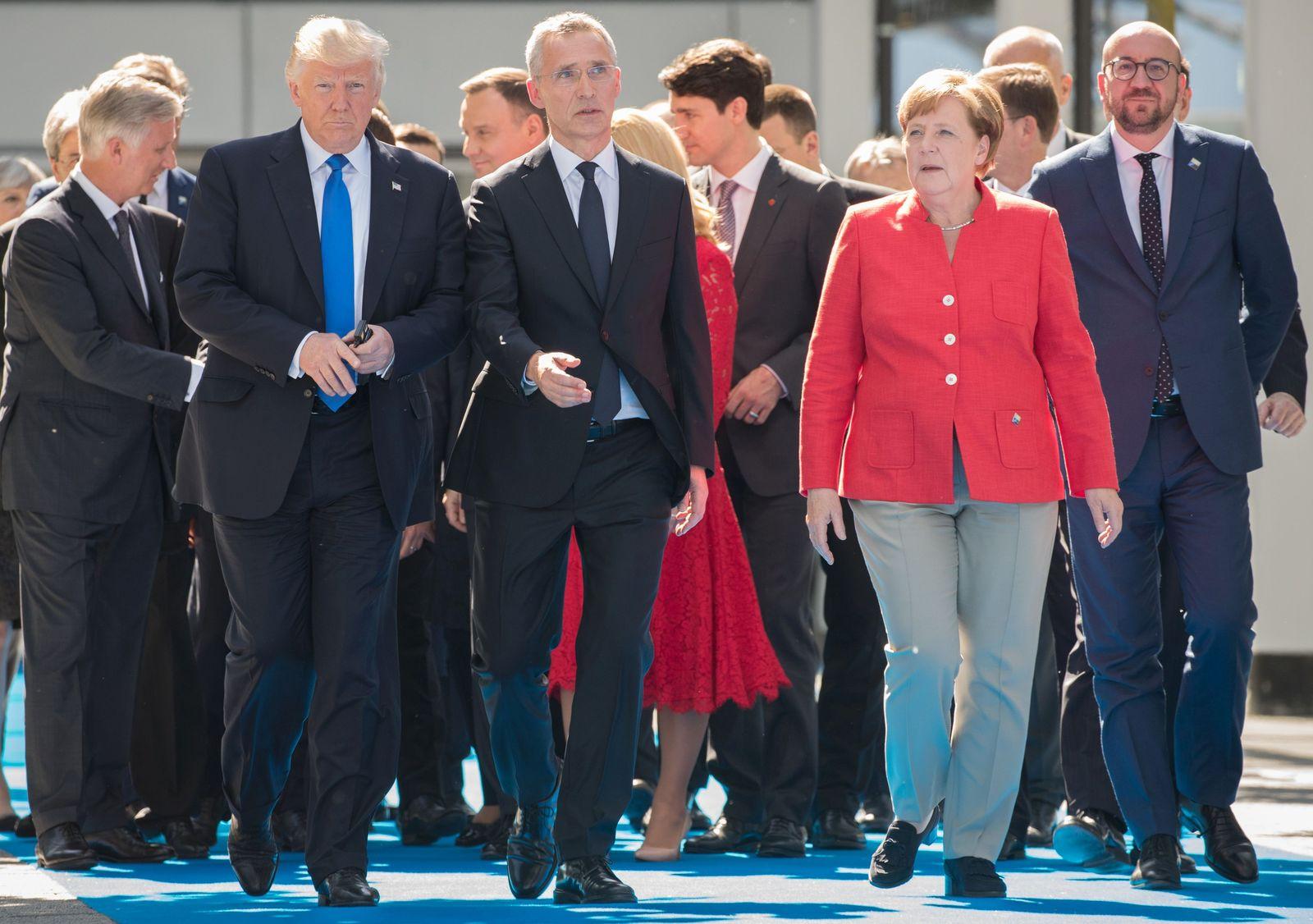 Donald Trump bei der Nato