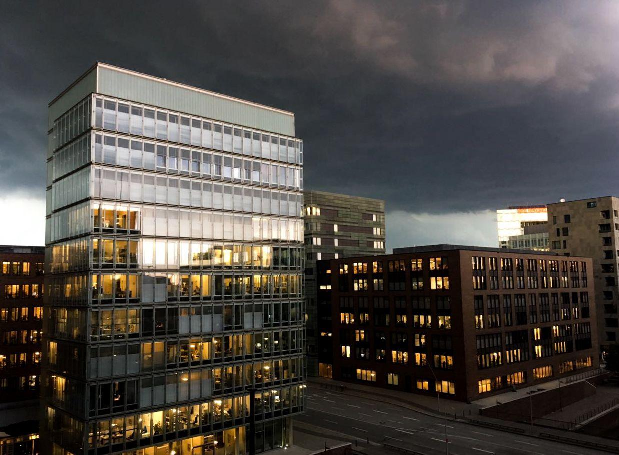 Unwetter/ Hamburg/ Tornado