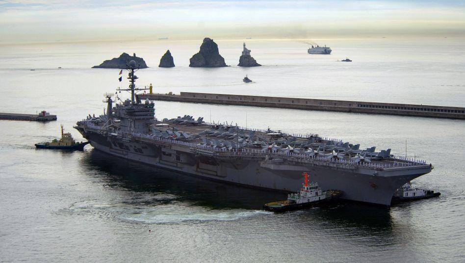 "US-Flugzeugträger ""George Washington"": Washington plant Manöver mit Südkorea"
