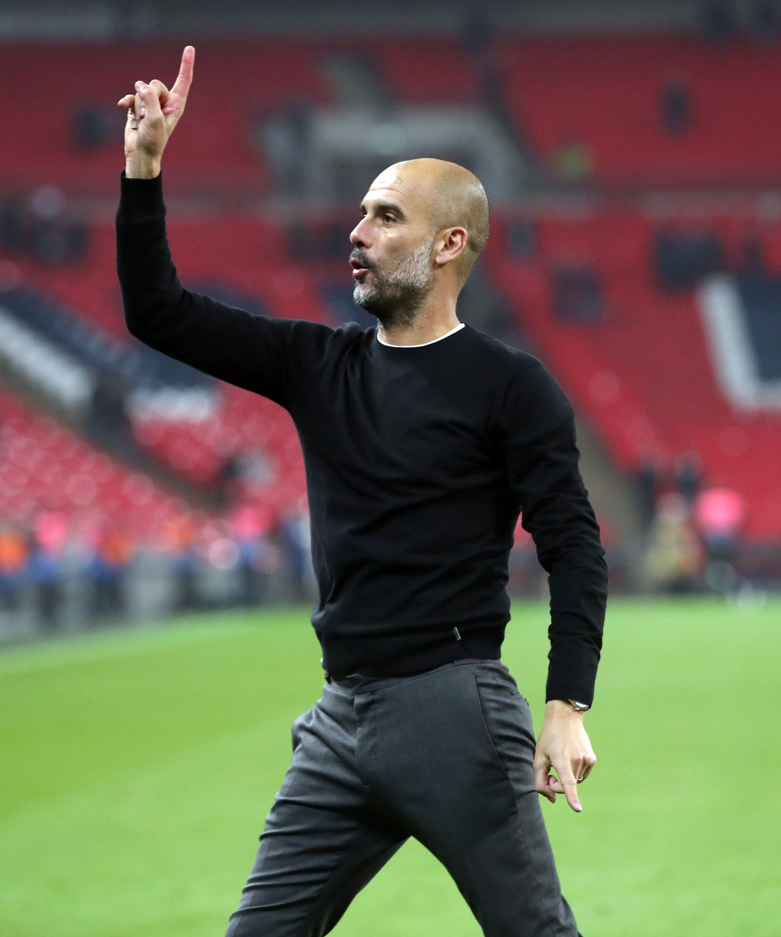 Pep Guardiola Manchester City - Premier League - Wembley St