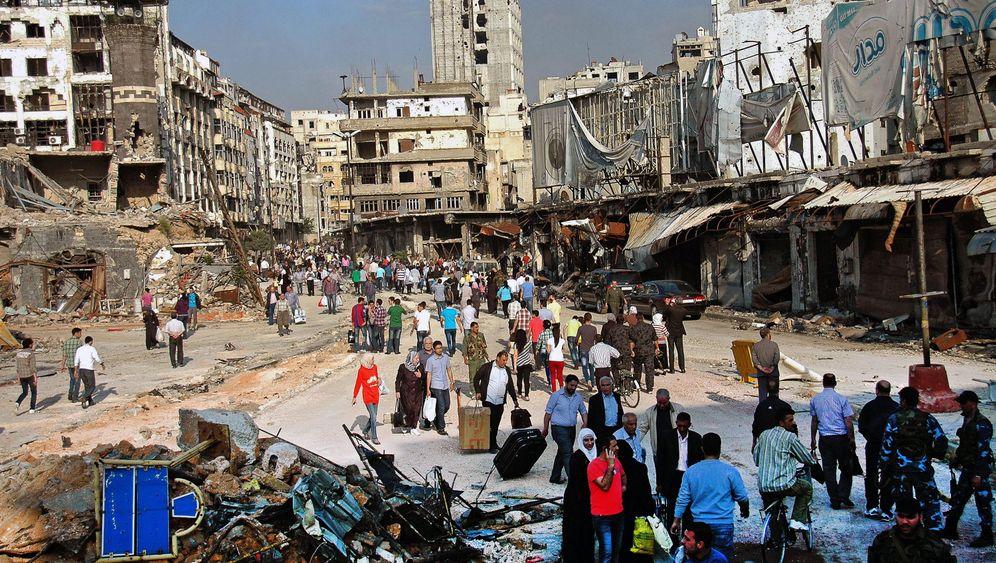 Bürgerkrieg in Syrien: Was von Homs übrigblieb
