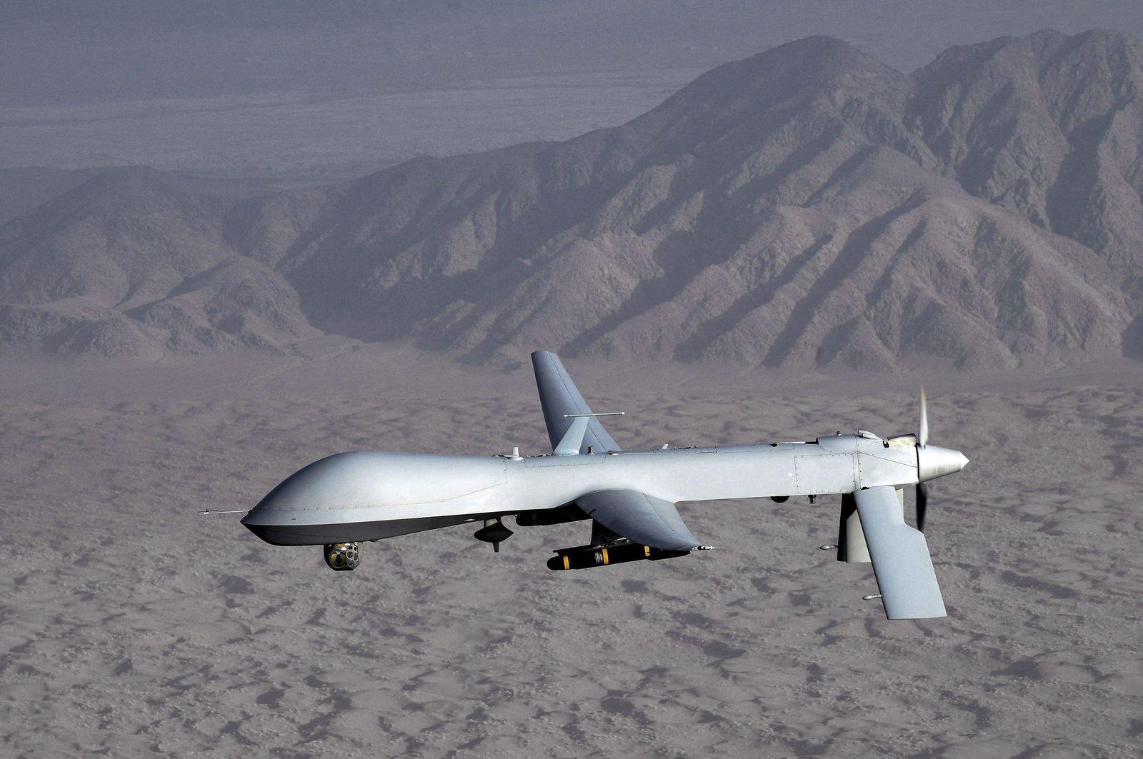 """US-Drohnen mit Billig-Software """"angezapft"""""""