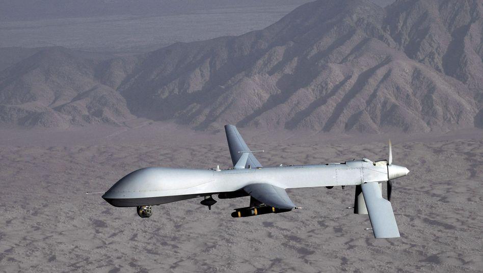 """Bewaffnete US-Drohne """"Predator"""": Bis zu zwei könnten in Libyen gleichzeitig im Einsatz sein"""