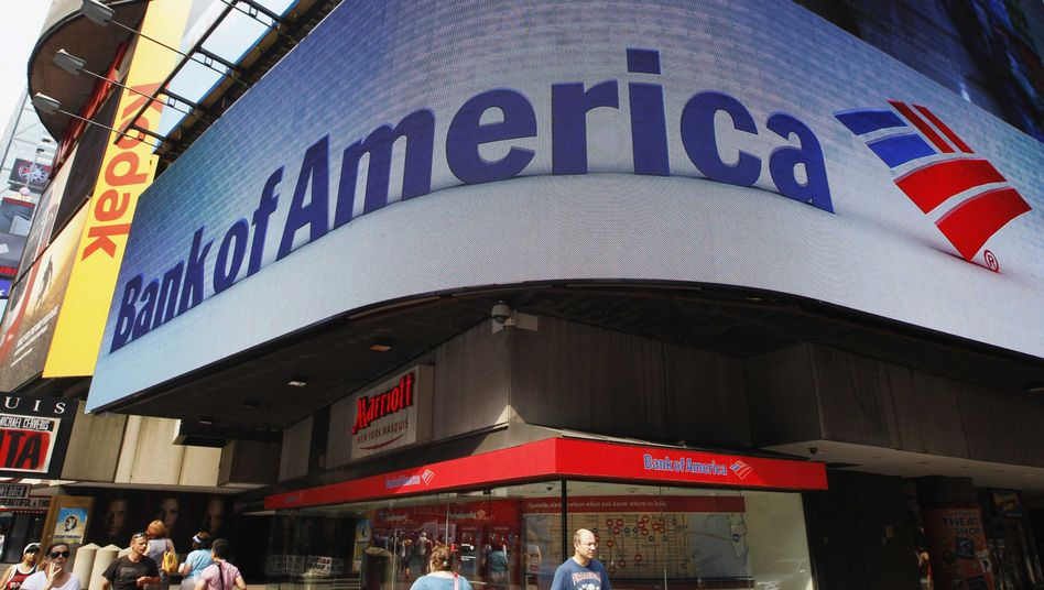 Bank of America in New York: 4,2 Milliarden Dollar Gewinn in 2012